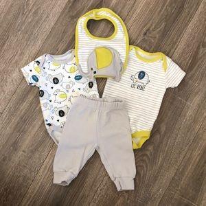 Baby Gear 4 piece Matching Set
